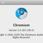 information de Chromium